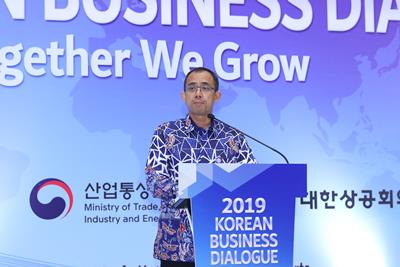 20190227 2019 KOREAN BUSINESS DIALOGUE Heru Pambudi 관세청장.jpg